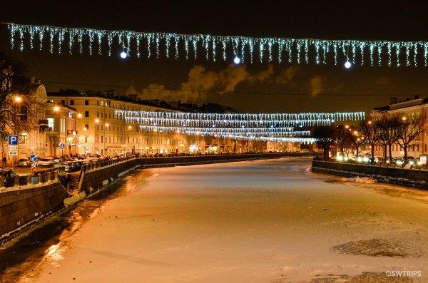 St Petersburg at Night