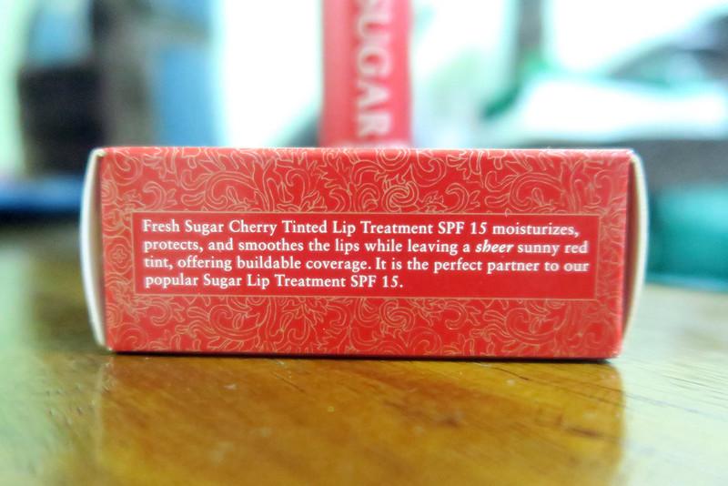 Fresh Sugar Lip Treatment SPF15 - Cherry 20160117_205830