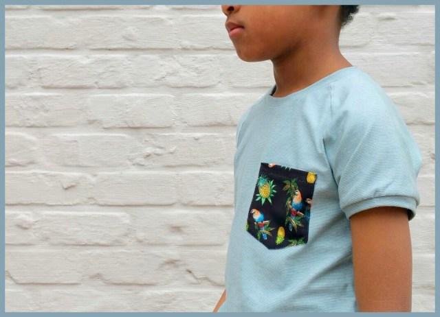 billie t-shirt (side)