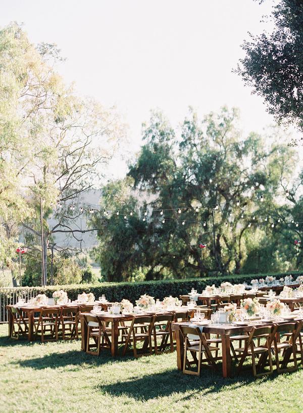 Wedding Reception - Midsummer Night's Dream wedding Inspired + blue and aqua wedding colour theme