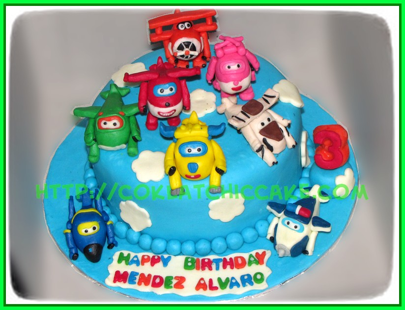 Cake Superwing Mendez Jual Kue Ulang Tahun