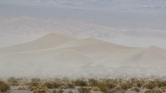Windy Day on Mesquite Flat Dunes