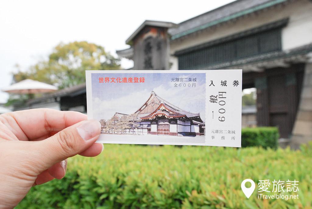京都赏樱景点 元离宫二条城 05