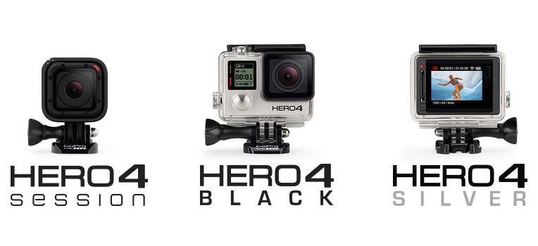 GoPro : La gamme de caméras d'action réduite à trois