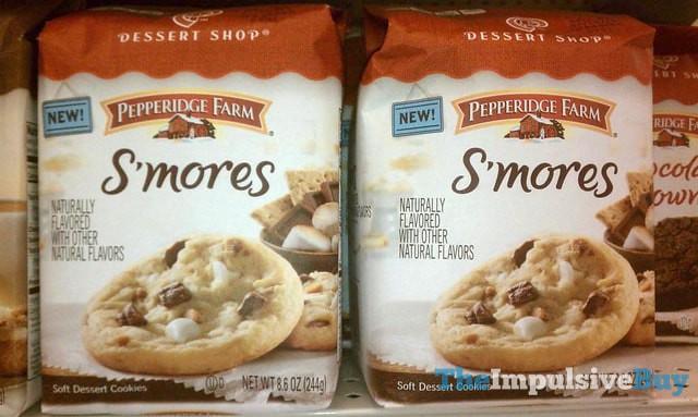 Pepperidge Farm Dessert Shop S'mores Cookies