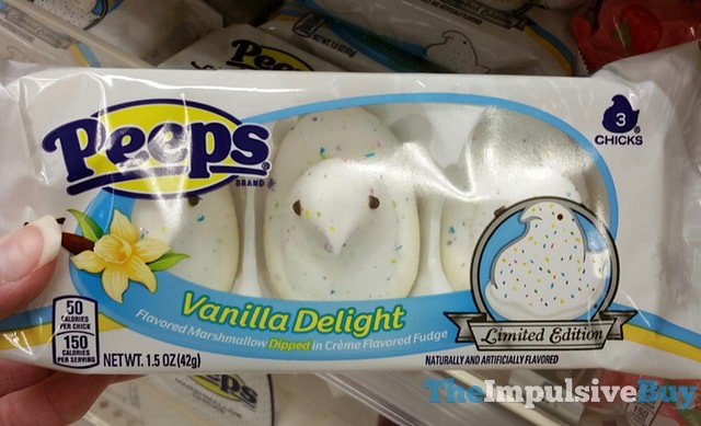 Peeps Limited Edition Vanilla Delight