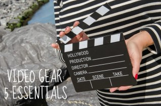 Video gear 5 essentials voor beginnende en gevorderde vloggers