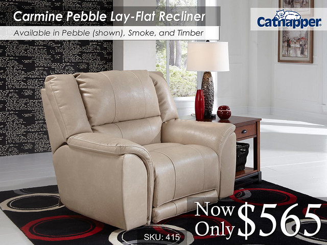 Carmine Pebble Recliner2