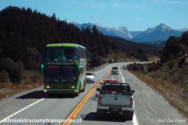 Vía Bariloche - RN231-AR - Marcopolo Paradiso 1800 DD / Mercedes Benz (7908)