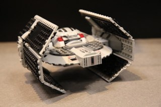 LEGO Star Wars 75150 Darth Vader's TIE Advanced and A-wing Fighter 7