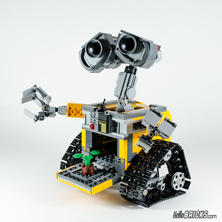 REVIEW LEGO 21303 WALL-E LEGO IDEAS 19