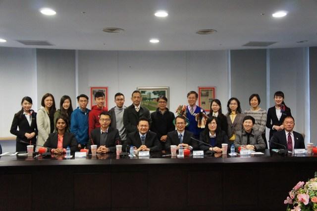 馬來西亞檳城州議會來訪貴賓合影