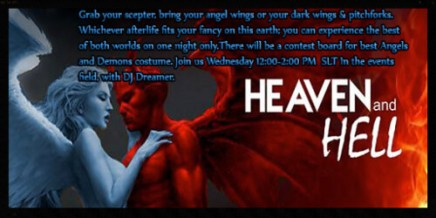 Heaven & Hell Event Located in the events field