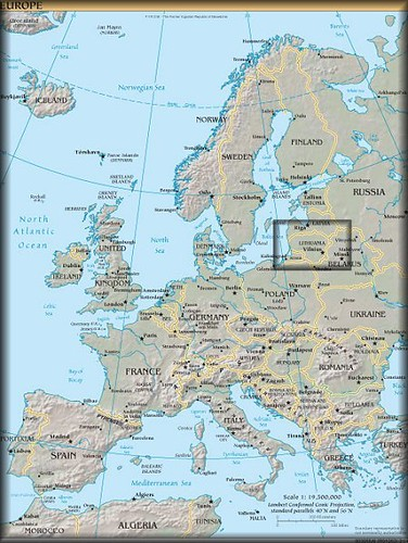 lithuania-in-europe-map