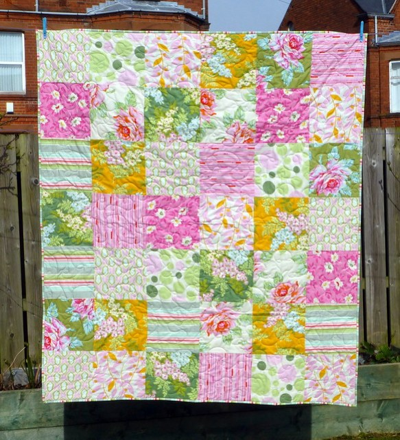 (Heather Bailey) 18th Birthday Quilt