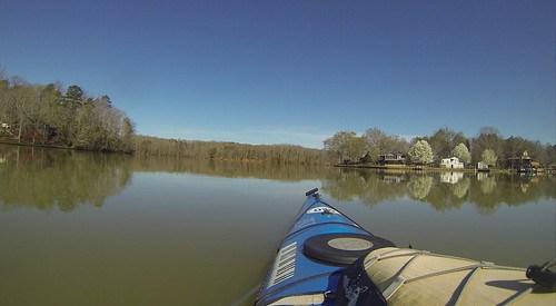 Saluda Lake Paddling-36