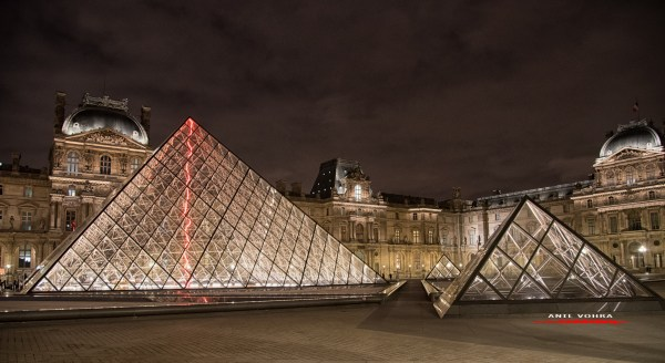 DaVinci Code Louvre Inverted Pyramid