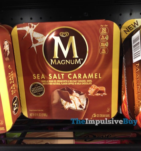Magnum Sea Salt Caramel Ice Cream Bars