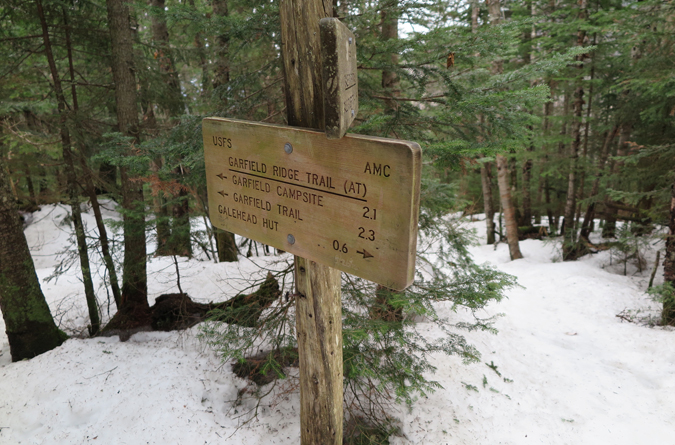 Garfield Ridge Trail Intersection