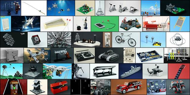 Iron Builder Collage