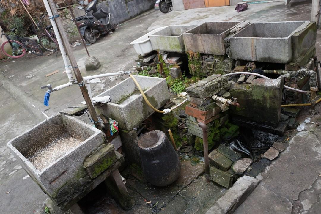上海如意街附近的小弄堂