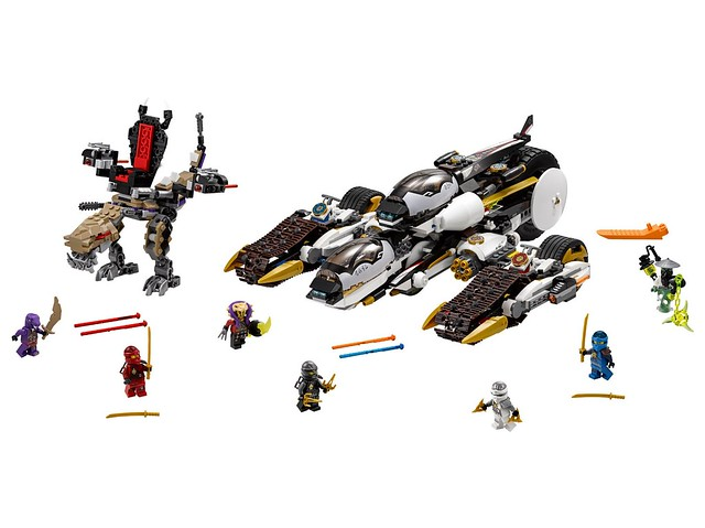 Nouveautés LEGO Ninjago 70595 Ultra Stealth Raider