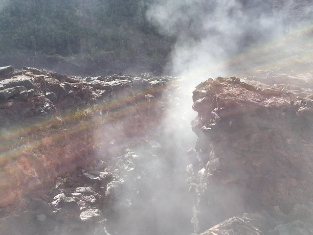 Kilauea Iki Crater, Steam Vents