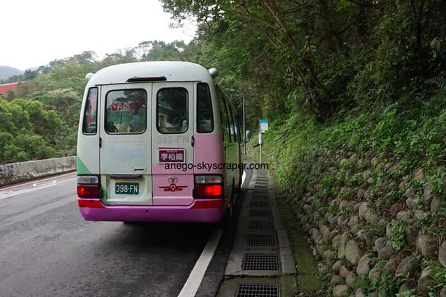 猫空 止まったままのバス