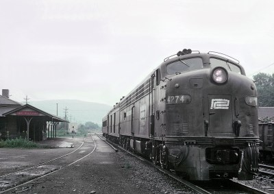 Roger Puta rode Penn Central Train 575, The Buffalo Day Express on July 20, 1969