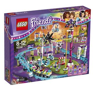 LEGO Friends 41130 Amusement Park Roller Coaster box