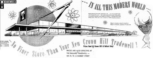 Crown Hill Tradewell, 1956