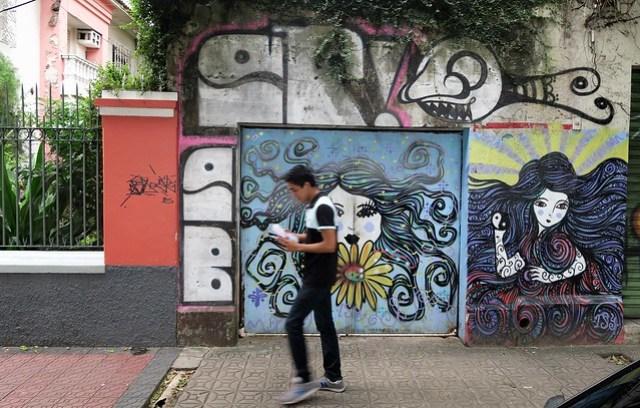 graffiti art manaus brazil
