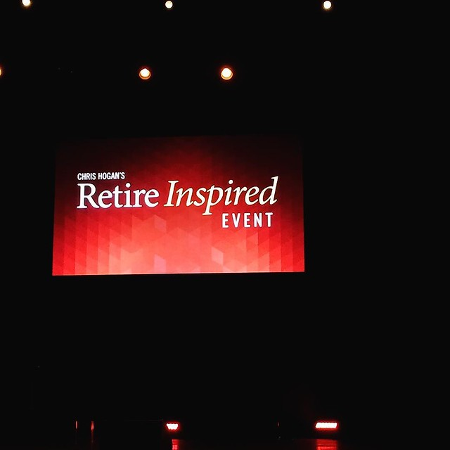 Excited to see @chrishogan360 and @kenwcoleman ! #retireinspired