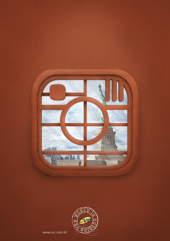 CVC Travel agency - The world is outside Instagram