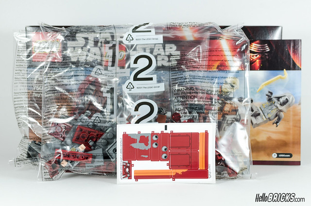 REVIEW LEGO Star Wars 75099 Rey's Speeder 03 - HelloBricks