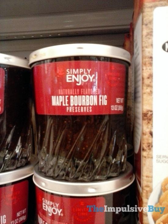 Giant Simply Enjoy Maple Bourbon Fig Preserves