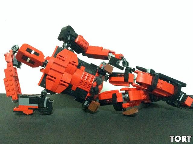 lego moc Deadpool!