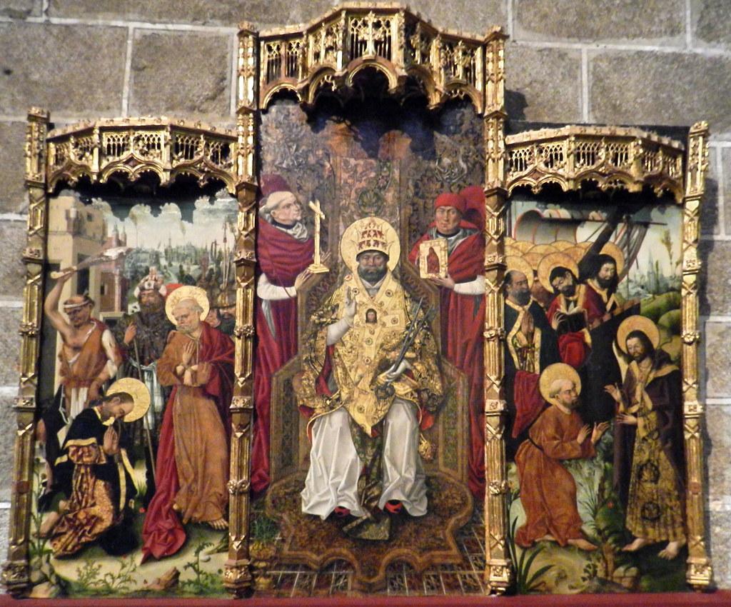 Pinturas Interior Catedral de Avila 01