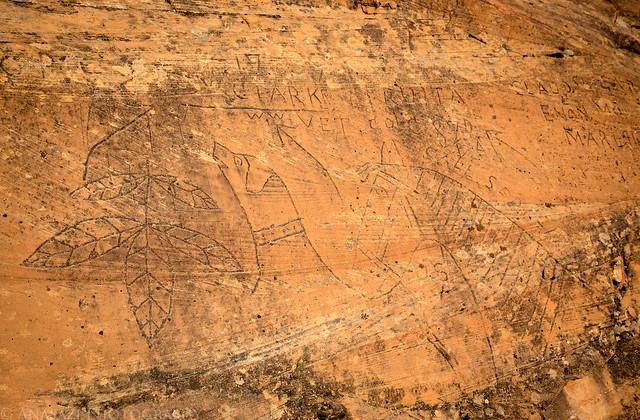 Elaborate Historical Inscriptions