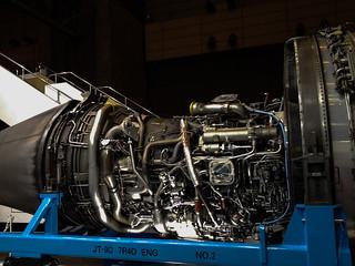 ニコニコ超会議2016 JALブースエンジン展示