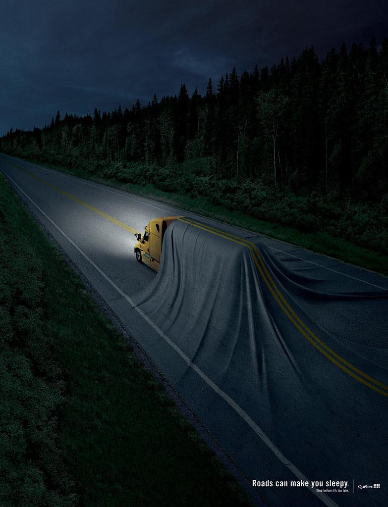 SAAQ - Roads can make you sleepy 2