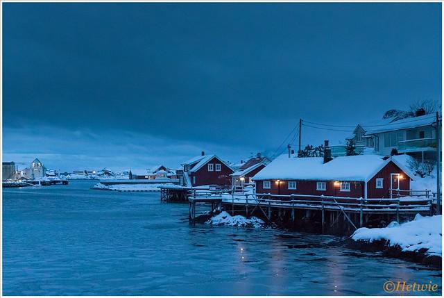 Avond in Svinøya (HP003481)