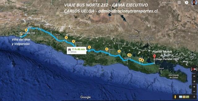 Viaje Bus Norte 212
