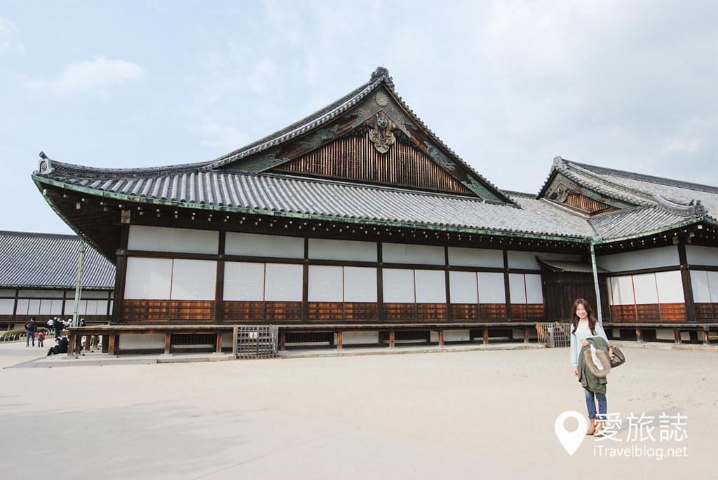 京都赏樱景点 元离宫二条城 09
