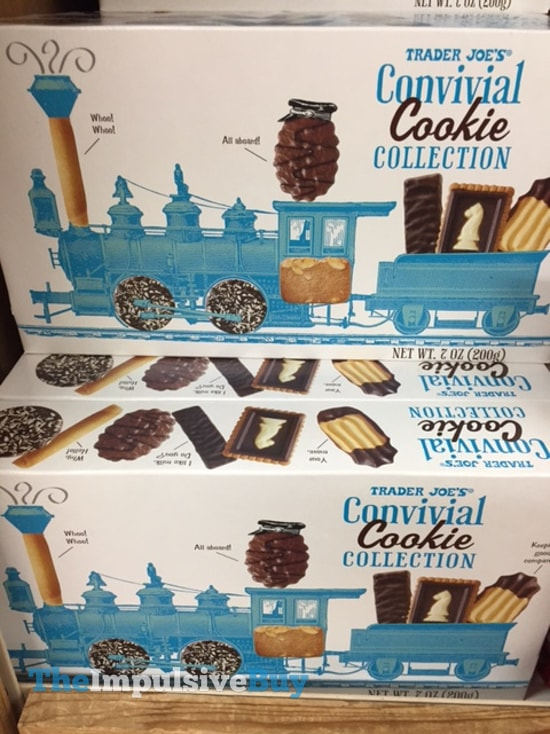 Trader Joe's Convivial Cookie Collection