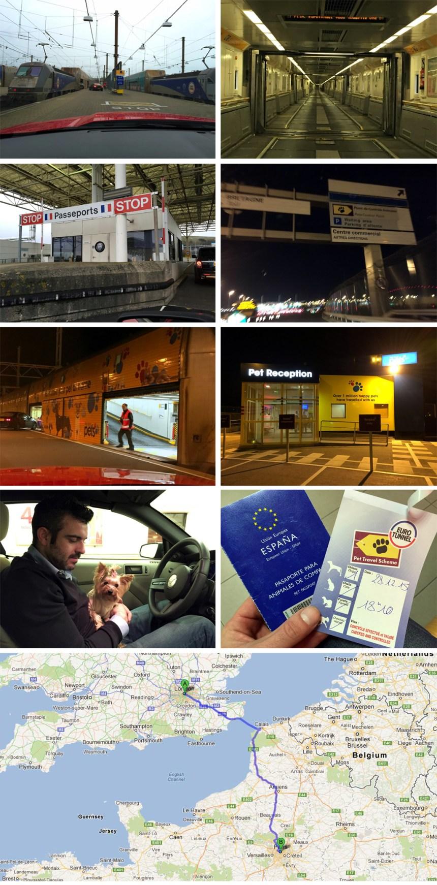 Viajar de Francia a Inglaterra por el Eurotunel