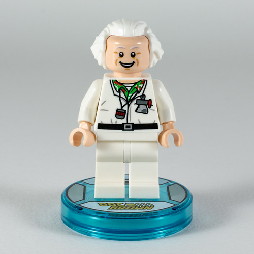 REVIEW LEGO Dimensions 71230 Doc Brown Fun Pack 3