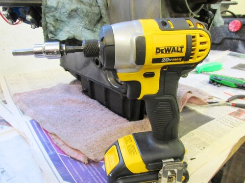Small Electric Impact Driver