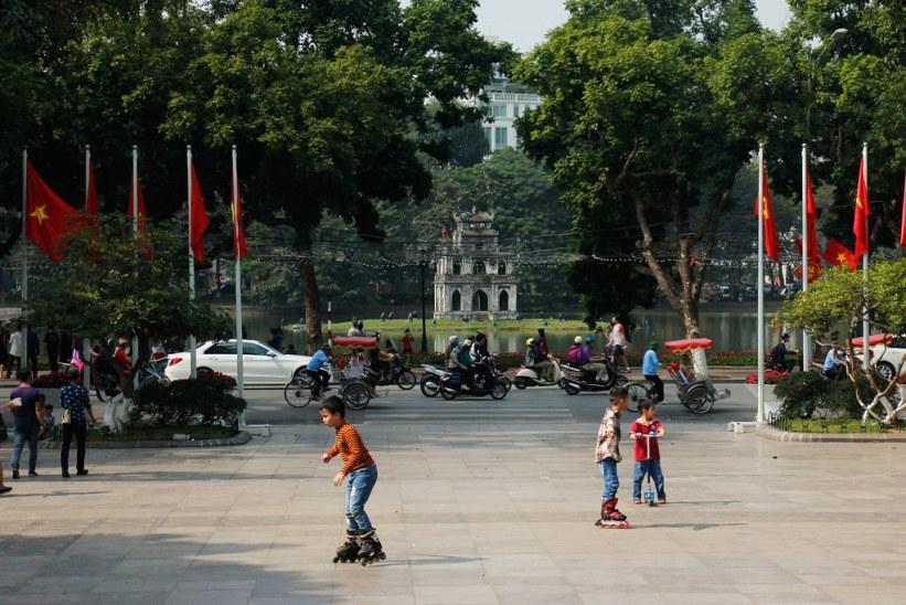 Hoan Kiem Søen (Hô Hoàn Kiêm)