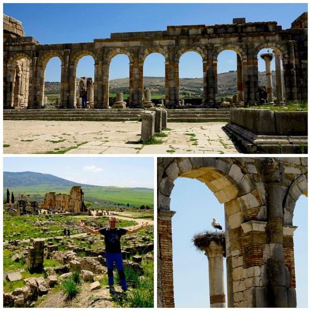 Basilica en Volubilis
